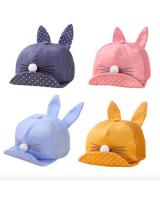 BS917 Baby Cat Ear Cap Light Blue