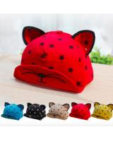 BS918 Cartoon Baby Cap Red