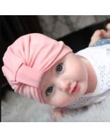 BS919 Cute Bohemian Baby Hat Pink