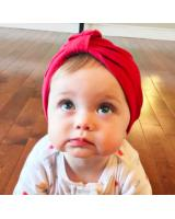 BS919 Cute Bohemian Baby Hat Red