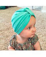BS919 Cute Bohemian Baby Hat Green