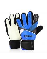 OD786 Child Goalkeeper Gloves Finger-save Blue