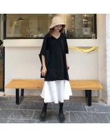 VW12246 Fashion Loose Dress As Picture