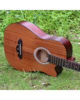 MK007 Acoustic Guitar Brown