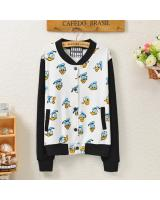 WJ21632 Cute Duck Sweater Jacket As Picture
