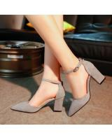 HT122 Pointed High Heel Grey