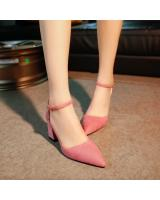 HT122 Pointed High Heel Pink