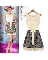 WD21653 Europe Fashion Dress As Picture