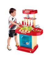 MK021 Kids Kitchen Toy Red