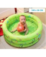 MK028 Inflatable Swimming Pool Green