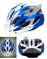 MK051 Cycling Helmet Blue White
