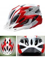 MK051 Cycling Helmet Red White