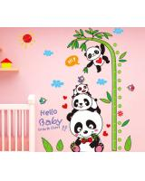 ST-556 Cute Panda Wall Sticker