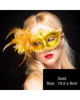 ST-568 Costume Mask Gold