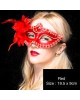 ST-568 Costume Mask Red