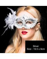 ST-568 Costume Mask Silver