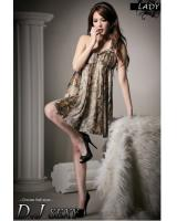 WD21706 Trendy Toga Dress As Picture