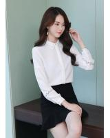GW2291 Fashion OL Top White
