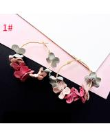 ST-604 Korea Fashion Earring Floral