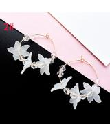 ST-605 Korea Fashion Earring Floral