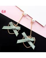 ST-608 Korea Fashion Earring Ribbon