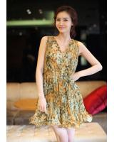 WD21737 Lovely Chiffon Dress As Picture