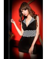 WD21738 Trendy Dress Black
