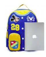 MW40079 BLUE MICKEY MOUSE KIDS PRESCHOOL BAG