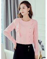 ST-621 Trendy Blouse Pink