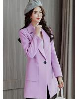 ST-627 Stylish Jacket Purple