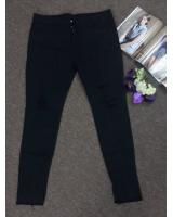 WP7671 Stylish Women's Pants Black