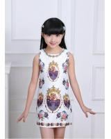 WD7678 Lovely Kids Princess Dress As Picture