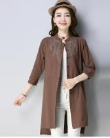 ZL704 Trendy Top Brown
