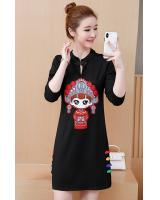 FF-103 Pretty Cheongsam Black
