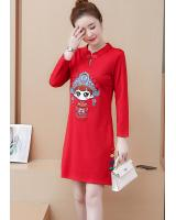 FF-103 Pretty Cheongsam Red