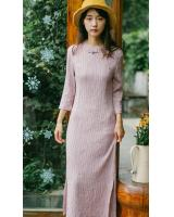 FF-104 Fashion Cheongsam Pink