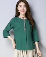 ZL705 Fashion Top Green