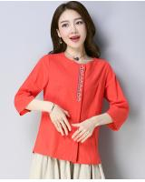 ZL705 Fashion Top Orange