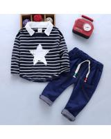 ST-635 Kids Top & Pant Set Black