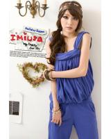 JW5075 Fashion Jumpsuit Blue