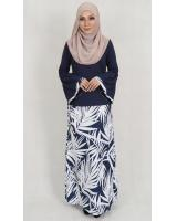 SW5139 Fashion Baju Kurung Navy
