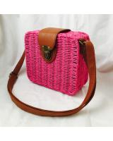 KW80397 Vintage Style Bag Hot Pink