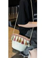 KW80400 Women's Tassel Bag White