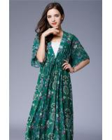 ZL772 Charming Dress Green