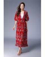 ZL772 Charming Dress Red
