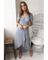 ZL779 Pretty Dress Grey
