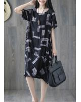 ZL800 Casual Dress Black