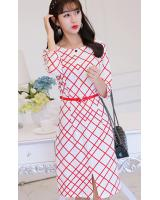 WD7700 Pretty Dress White