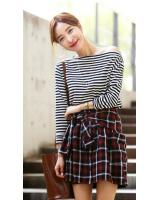 WT7701 Fashion Top Stripe