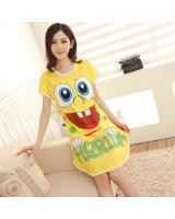 FG001 Casual Sleepwear Yellow